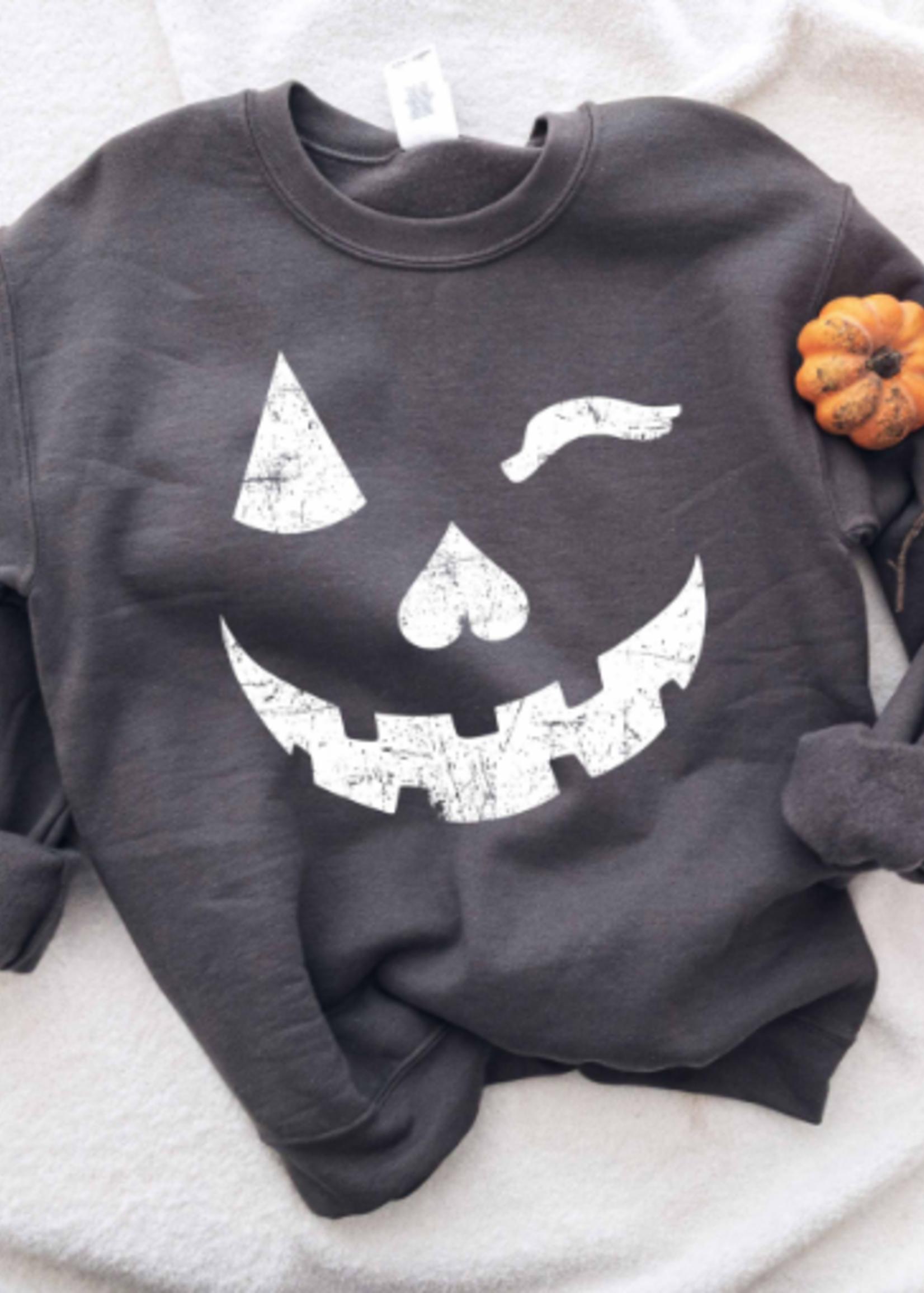 Pumpkin Wink Sweatshirt