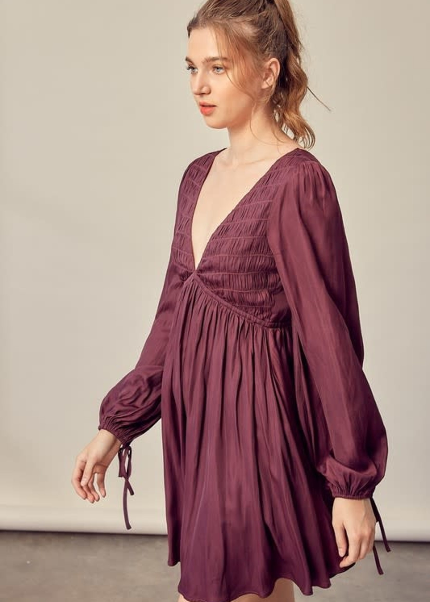 Time For Change Plum Dress