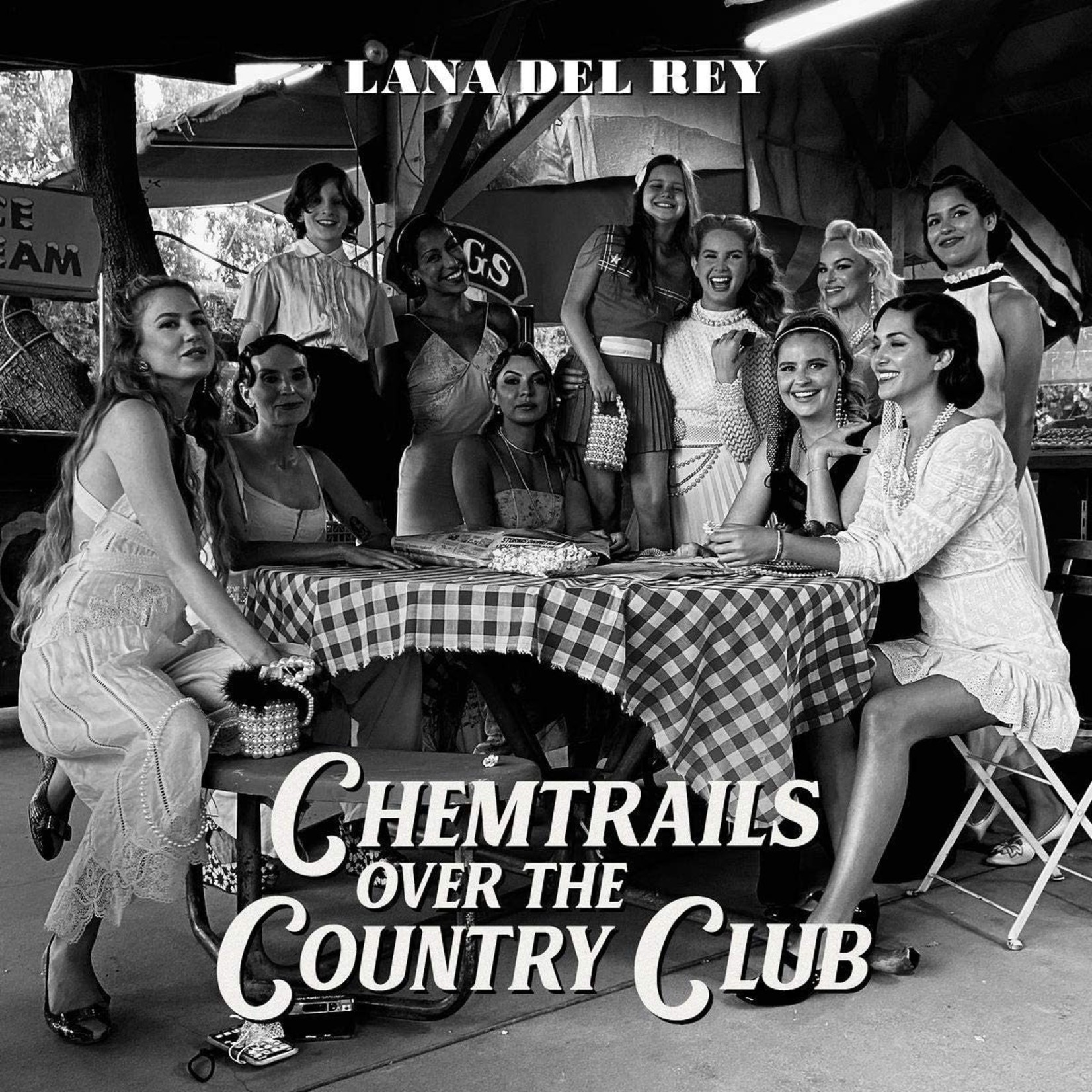 Lana Del Rey Lana Del Rey - Chemtrails Over The Country Club