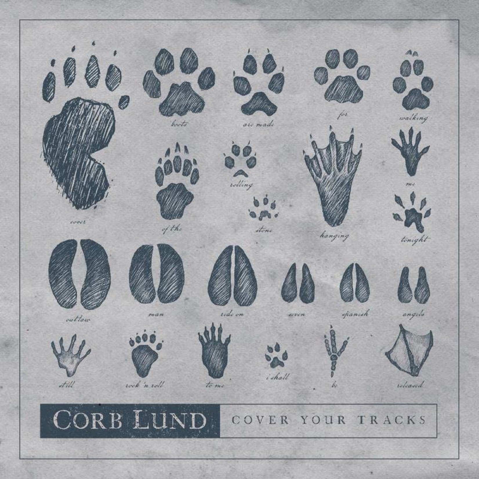 Corb Lund Corb Lund - Cover Your Tracks