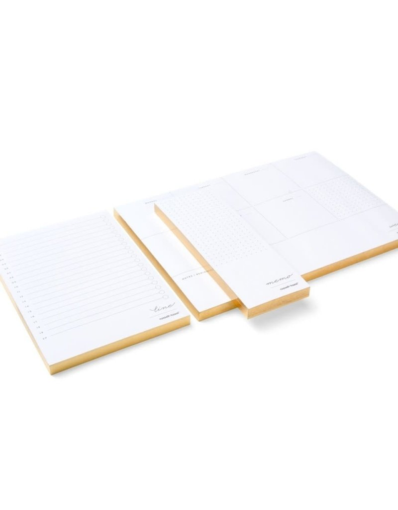 Russell and Hazel In Due Time Notepad Set
