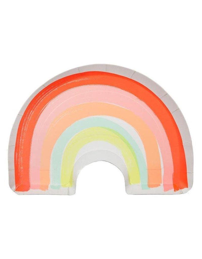 Meri Meri Meri Meri Rainbow Plates