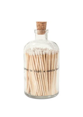 Skeem Design Poetry Match Bottle