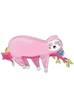 Burton and Burton Giant Pink Sloth Balloon