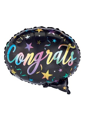 Congrats Speech Bubble Balloon