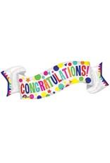 Burton and Burton Congrats Banner Balloon