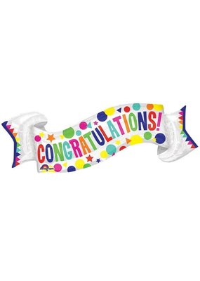 Burton and Burton Congrats Banner Balloon