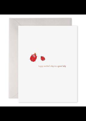 E. Frances Paper Ladybug Mother's Day Card