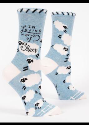 blue q In Memory of Sleep Women's Ankle Socks