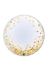 Qualatex Confetti Print Deco Bubble Balloon
