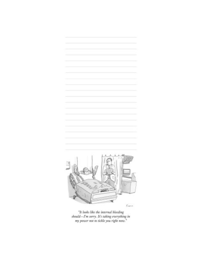 Nelson Line New Yorker Cartoon Notepads