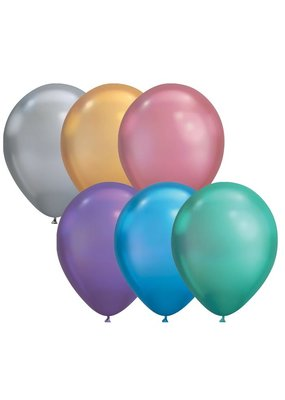 "Qualatex 11"" Chrome Latex Balloons"
