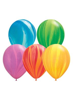 "Qualatex 11"" Tie Dye Balloons"