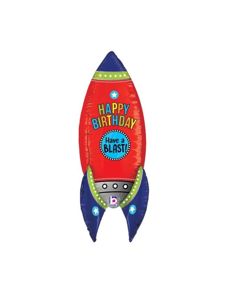 Rocket Ship Balloon