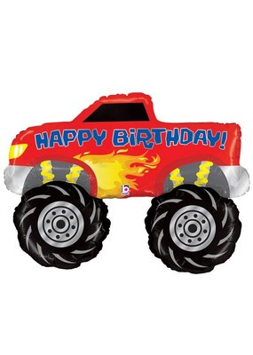 Betallic Monster Truck Balloon
