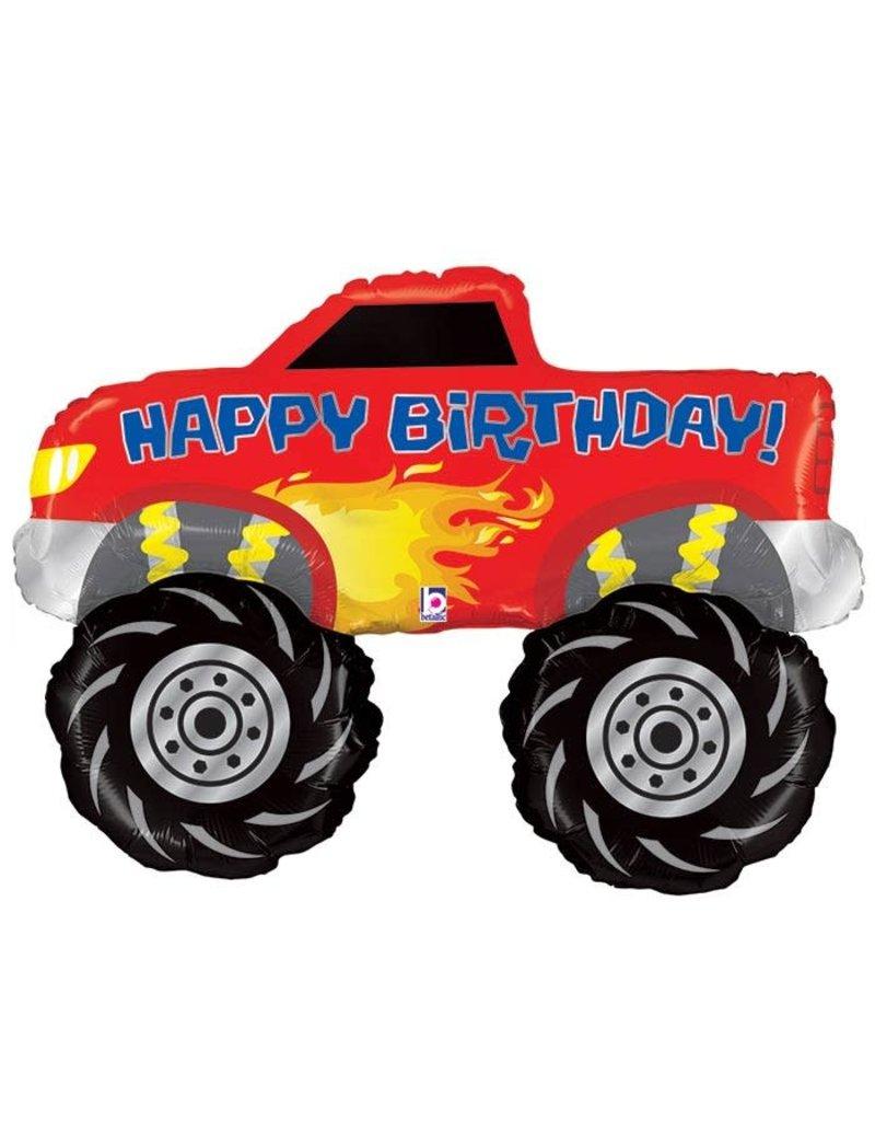 Betallic Monster Truck Balloon