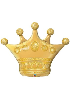 Qualatex Golden Crown Balloon