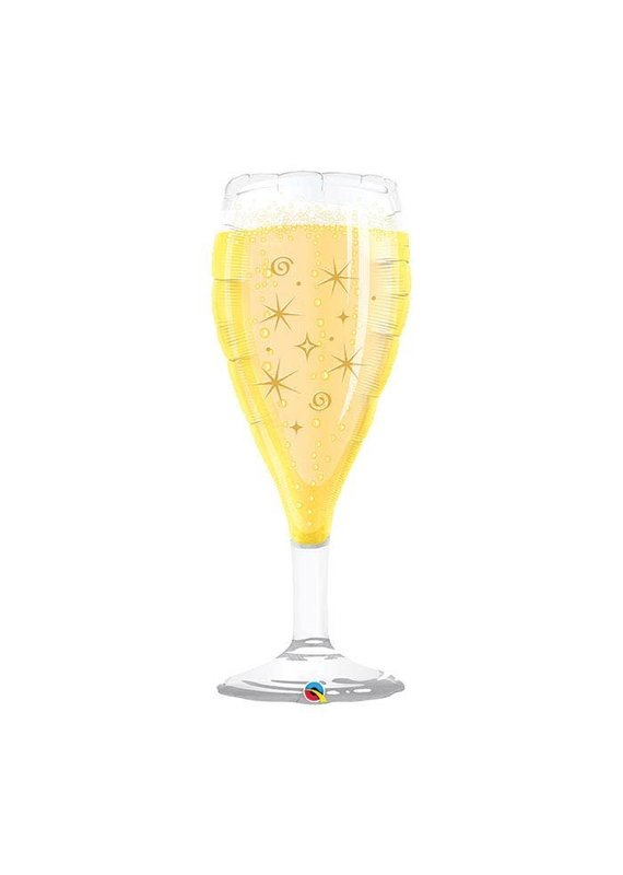 champagne Glass ballon