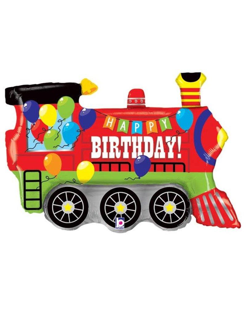 Anagram Birthday Train Balloon