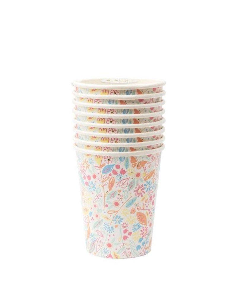 Meri Meri Daisy Doodles Cups