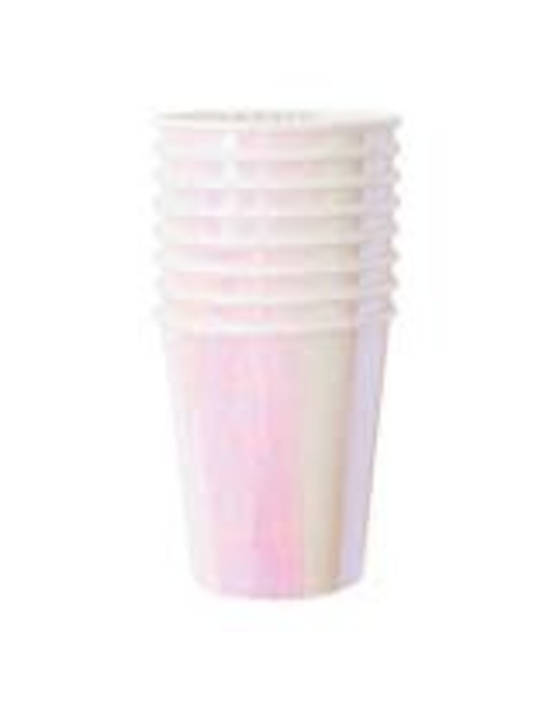 Meri Meri Irridescent Party Cups