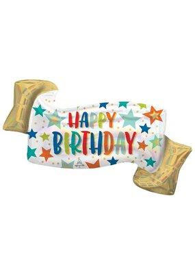 Happy Birthday Banner Balloon
