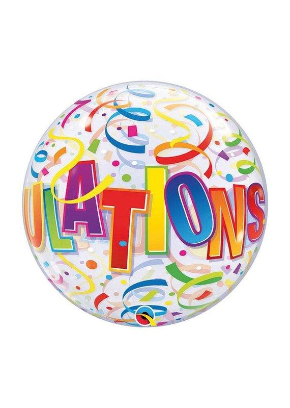 Congrats Bubble Balloon