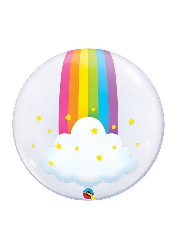 Rainbow Deco Bubble Balloon