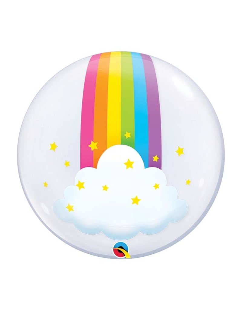 Rainbow Deco Bubble Balloon