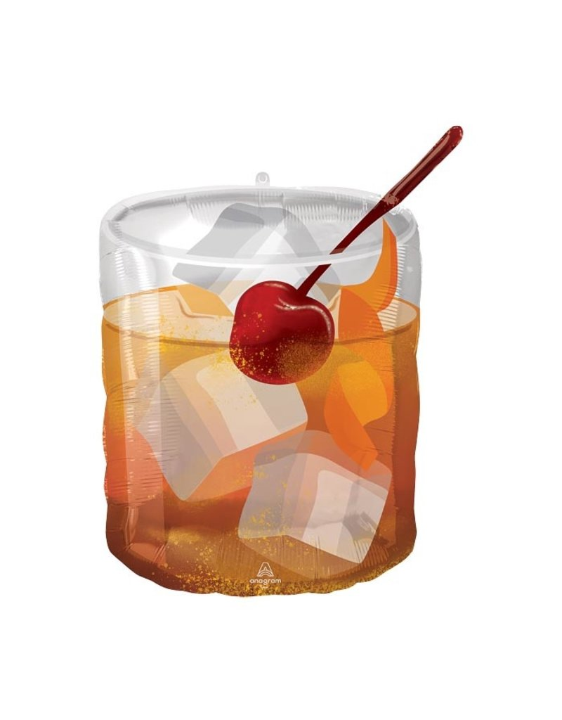 Old Fashioned Cocktail Balloon