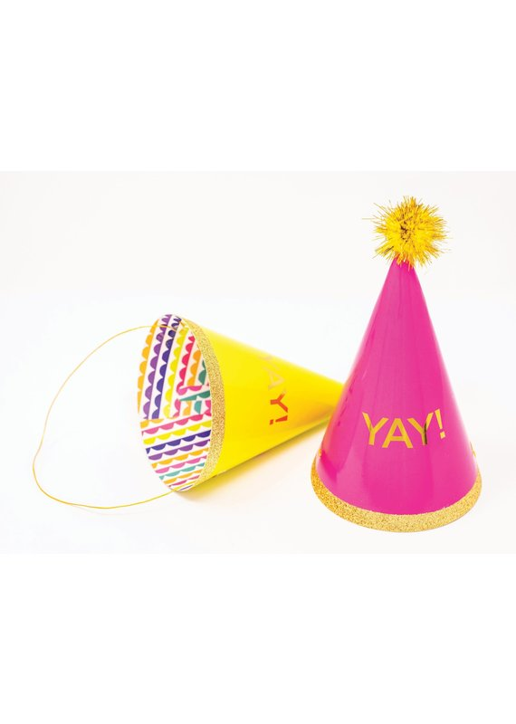 Party Partners Yay Party Hats Packaged