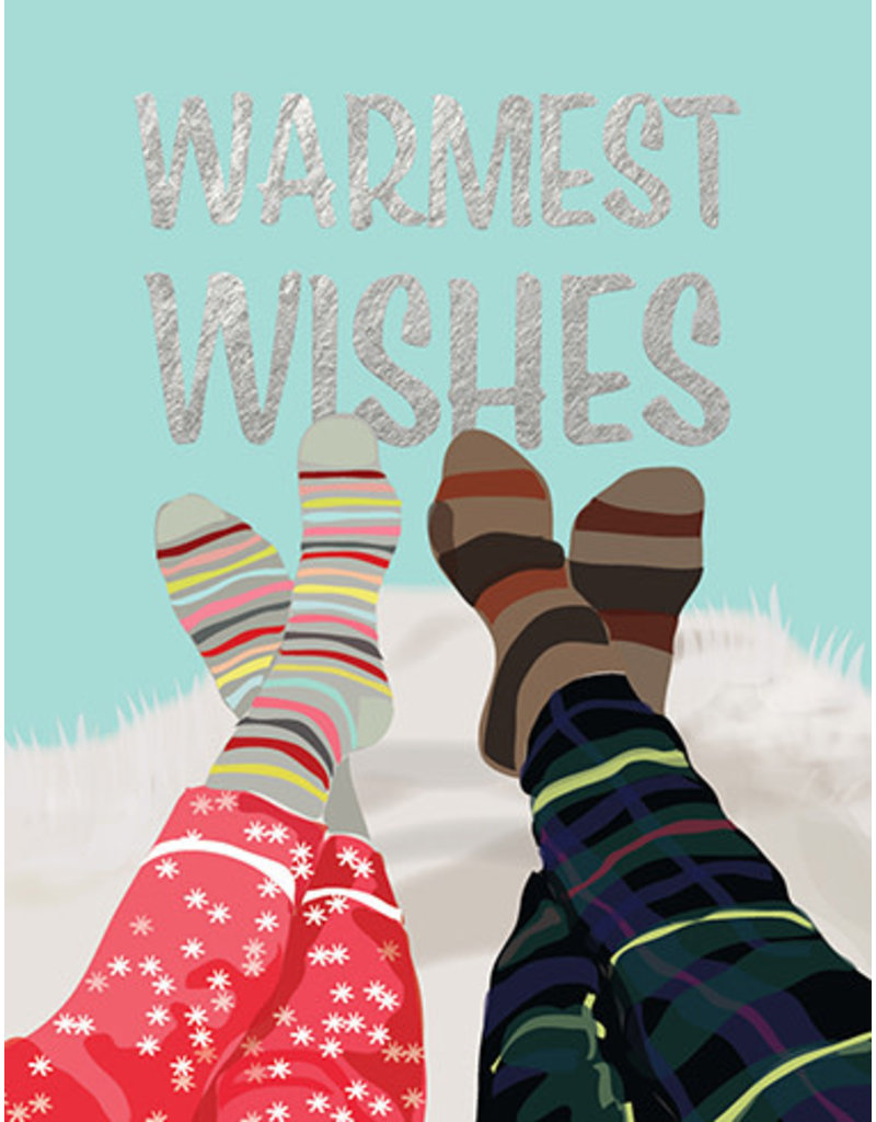 Carte Couple socks