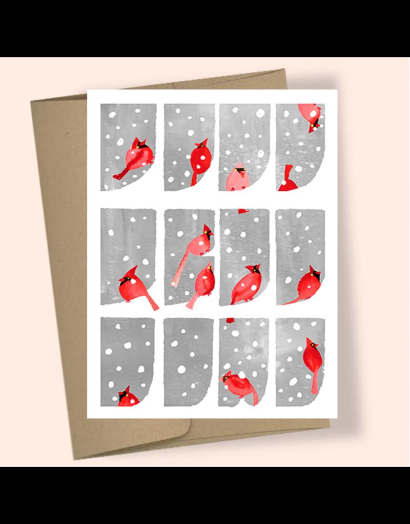 Masha Cardinal Window Boxed Holiday