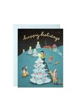 Joo Joo Paper Tree Decorating Boxed Holiday