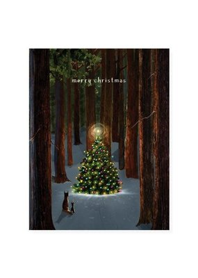 Felix Doolittle Tree Lighting Boxed Holiday Cards