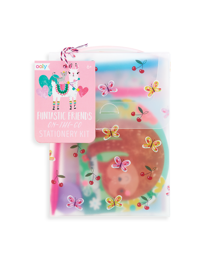 Ooly Funtastic Friends Stationery Kit