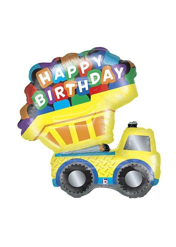 Betallic Birthday Dump Truck