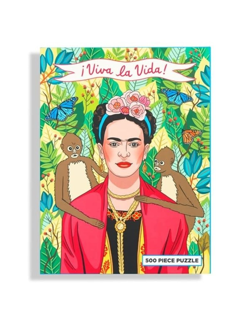 The Found Frida Kahlo 500 Pc Puzzle