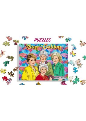 The Found Golden Girls 500 Pc Puzzle