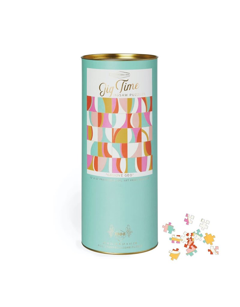 designworks Inc. Jigtime Puzzle in a Can