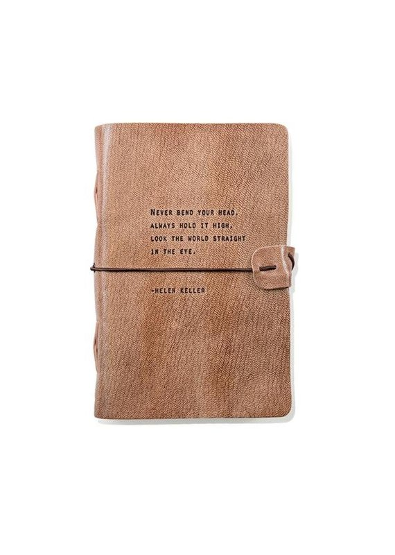 Sugarboo Journals - Blush/Grey Quote