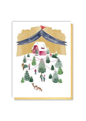 Driscoll Design Tree Farm Holiday Cards