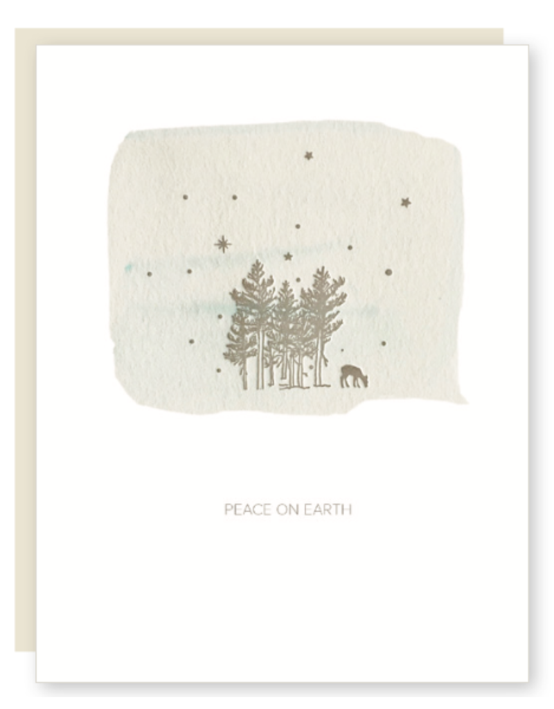 Lark Press Peace on Earth with Deer Boxed Holiday