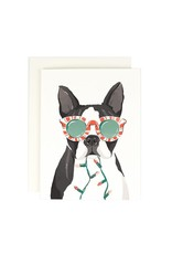 Amy Heitman Boston Terrier Boxed Holiday Cards