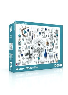 NY Puzzle Co Winter Collection 1000 pc Puzzle