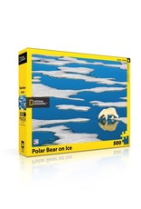 NY Puzzle Co Polar Bear on Ice Jigsaw Puzzle