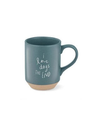 Fringe I Love Dogs the End Stoneware Mug