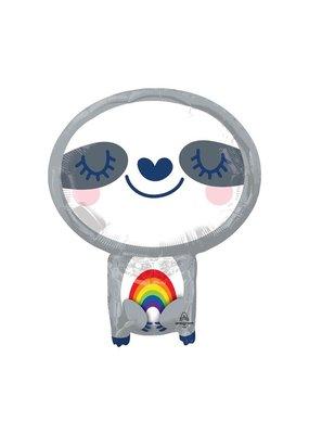 Rainbow Sloth Balloon