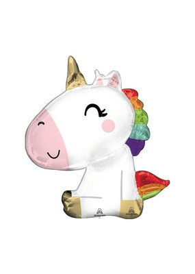 Anagram Sitting Unicorn Balloon