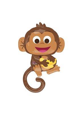 Happy Monkey Balloon